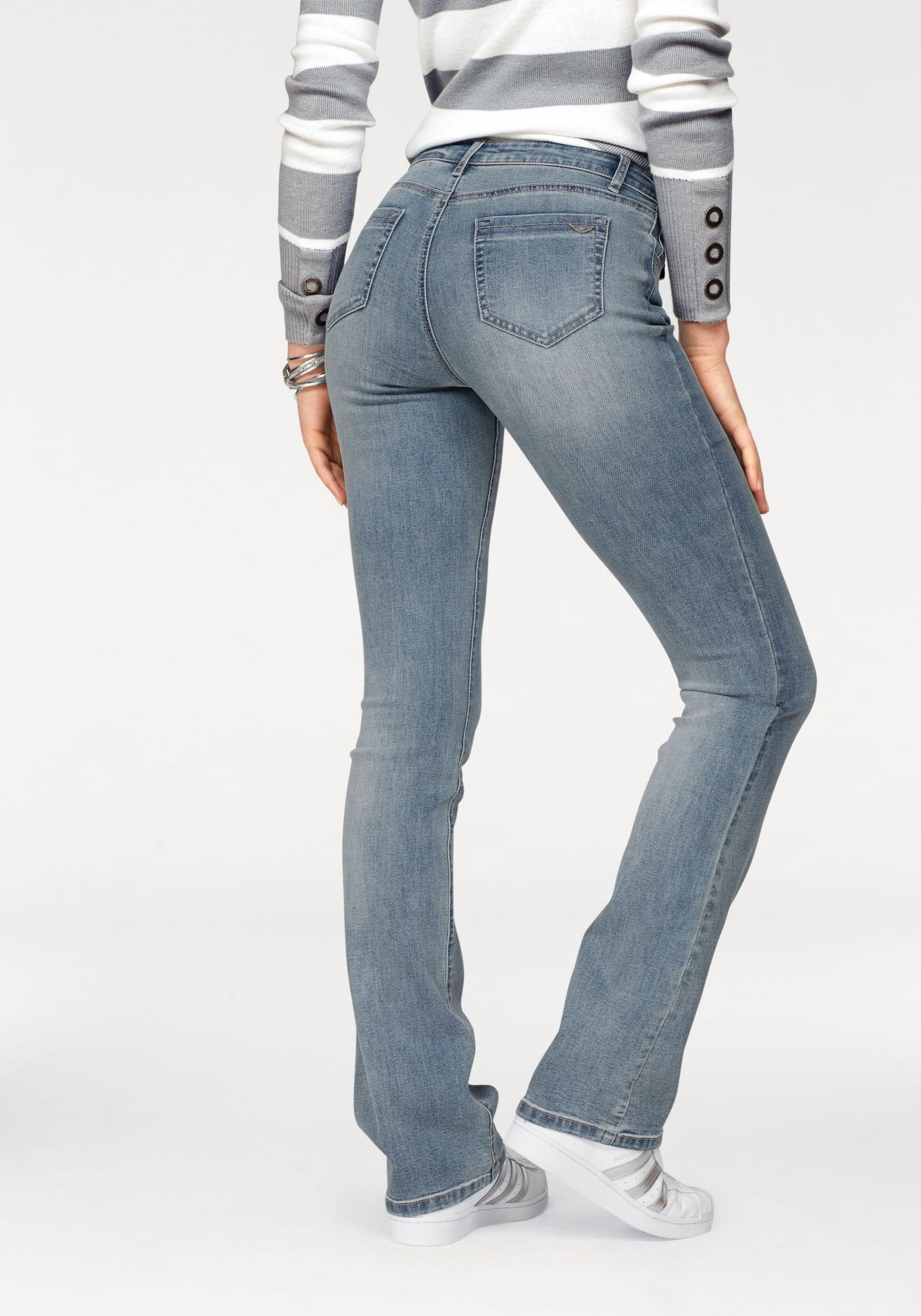 ARIZONA Arizona Bootcut-Jeans »Ultra-Stretch«