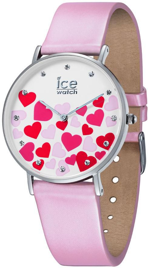 ICE WATCH ice-watch Quarzuhr »ICE LOVE 2017 - CITY PASTEL PINK - Small, 013373«