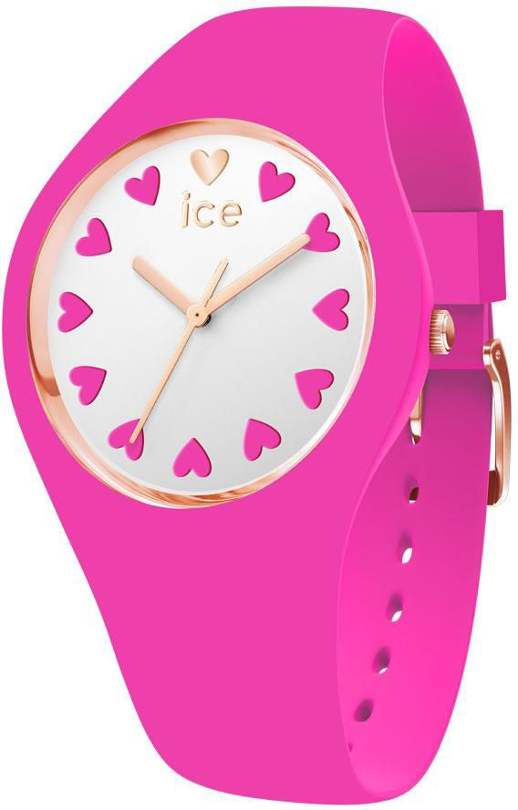 ICE WATCH ice-watch Quarzuhr »ICE LOVE 2017 - Pink - Small, 013369«