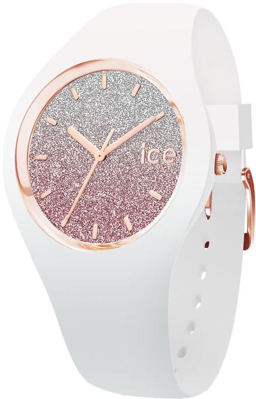 ICE WATCH ice-watch Quarzuhr »ICE lo - White pink - Small - 3H, 013427«