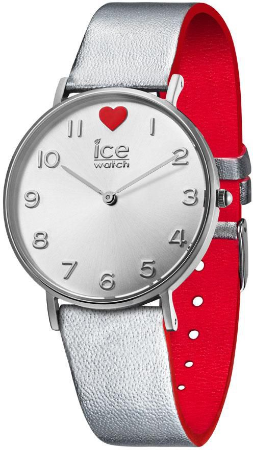 ICE WATCH ice-watch Quarzuhr »ICE LOVE 2017 - CITY Silber - Small, 013375«
