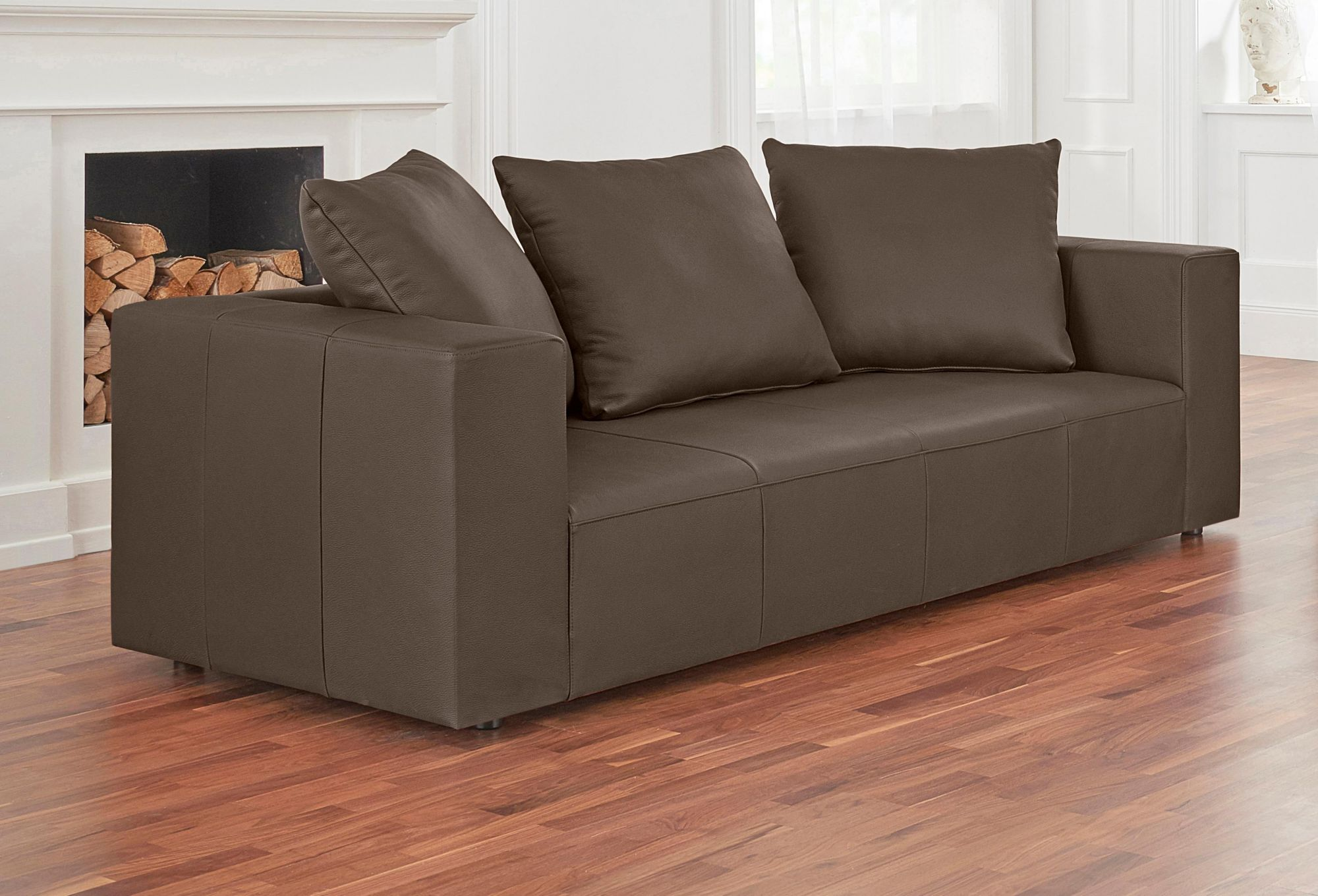 ALTE GERBEREI Alte Gerberei 2-Sitzer Sofa »Konstantin«, inklusive Rückenkissen