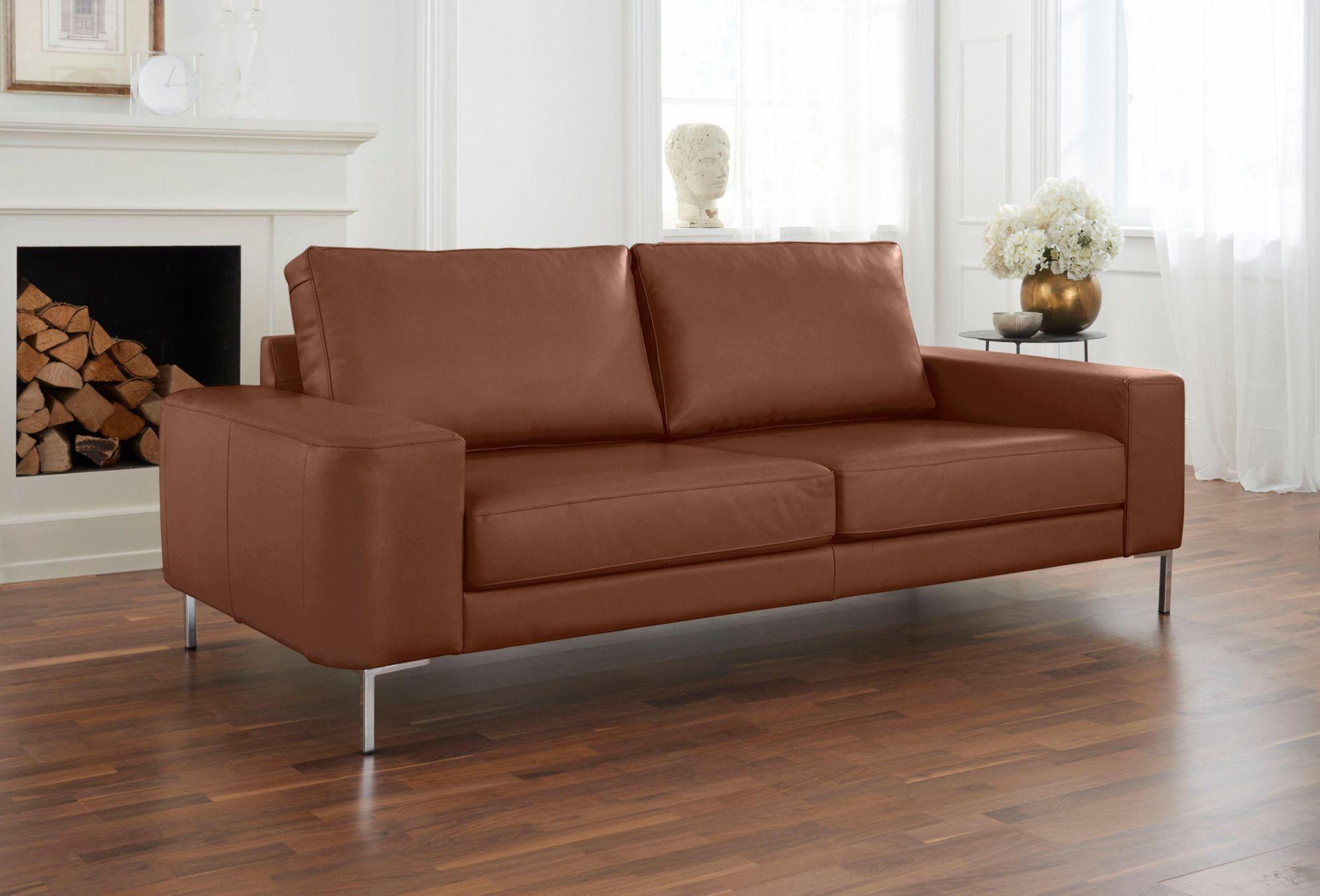 ALTE GERBEREI Alte Gerberei 2-Sitzer Sofa »Lexgaard« mit großer Bodenfreiheit, inklusive Rückenkissen