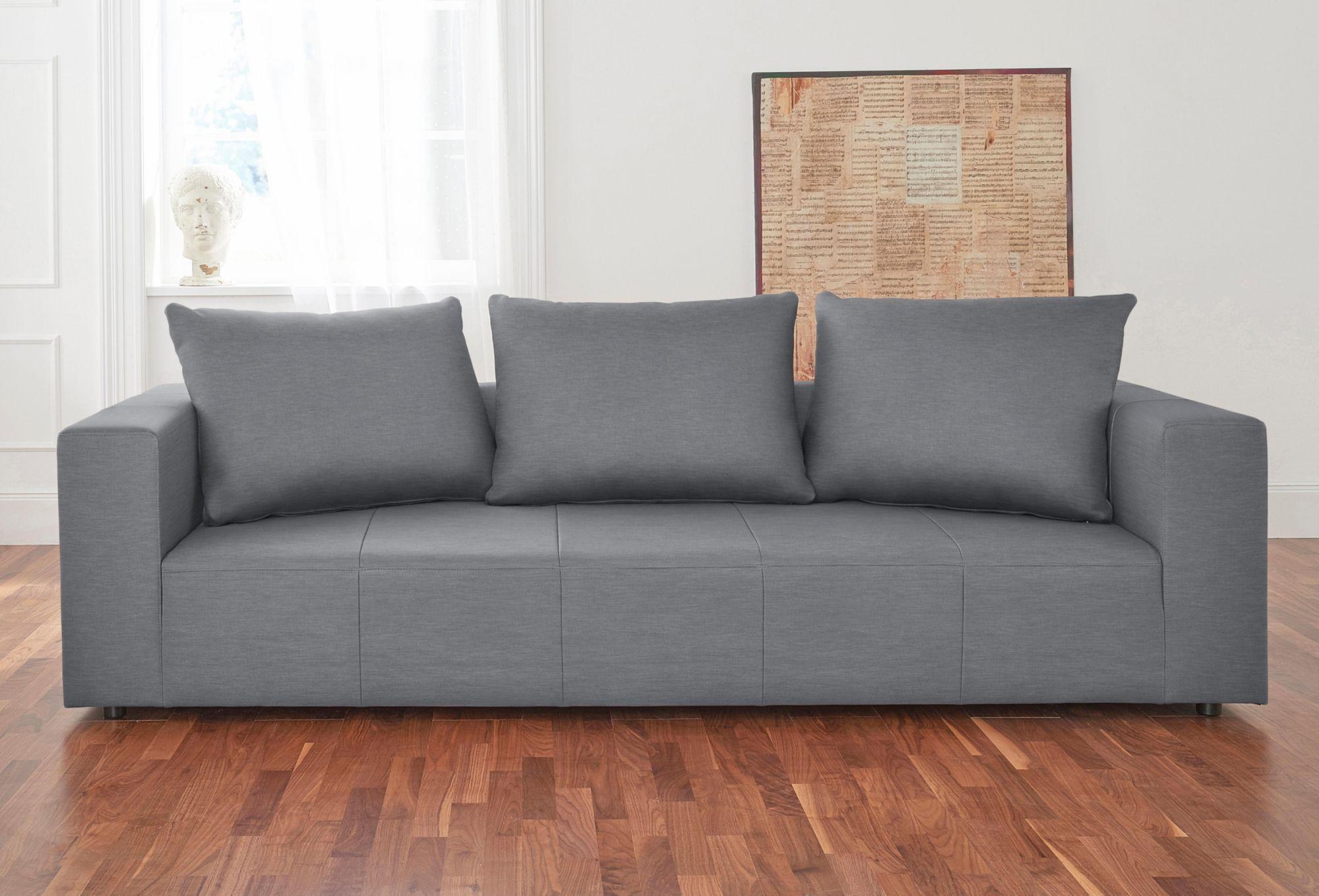ALTE GERBEREI Alte Gerberei 3-Sitzer Sofa »Konstantin«, inklusive Rückenkissen