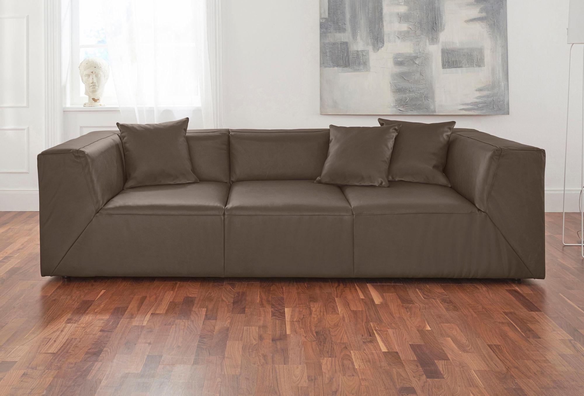 ALTE GERBEREI Alte Gerberei 3-Sitzer Bigsofa »Luis« inklusive Zierkissen