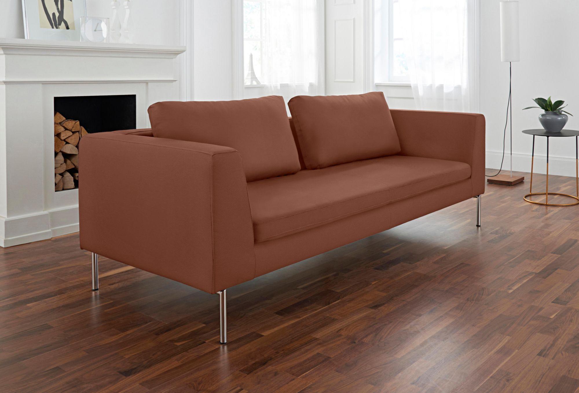 ALTE GERBEREI Alte Gerberei 3-Sitzer Sofa »Ellena« inklusive Rückenkissen