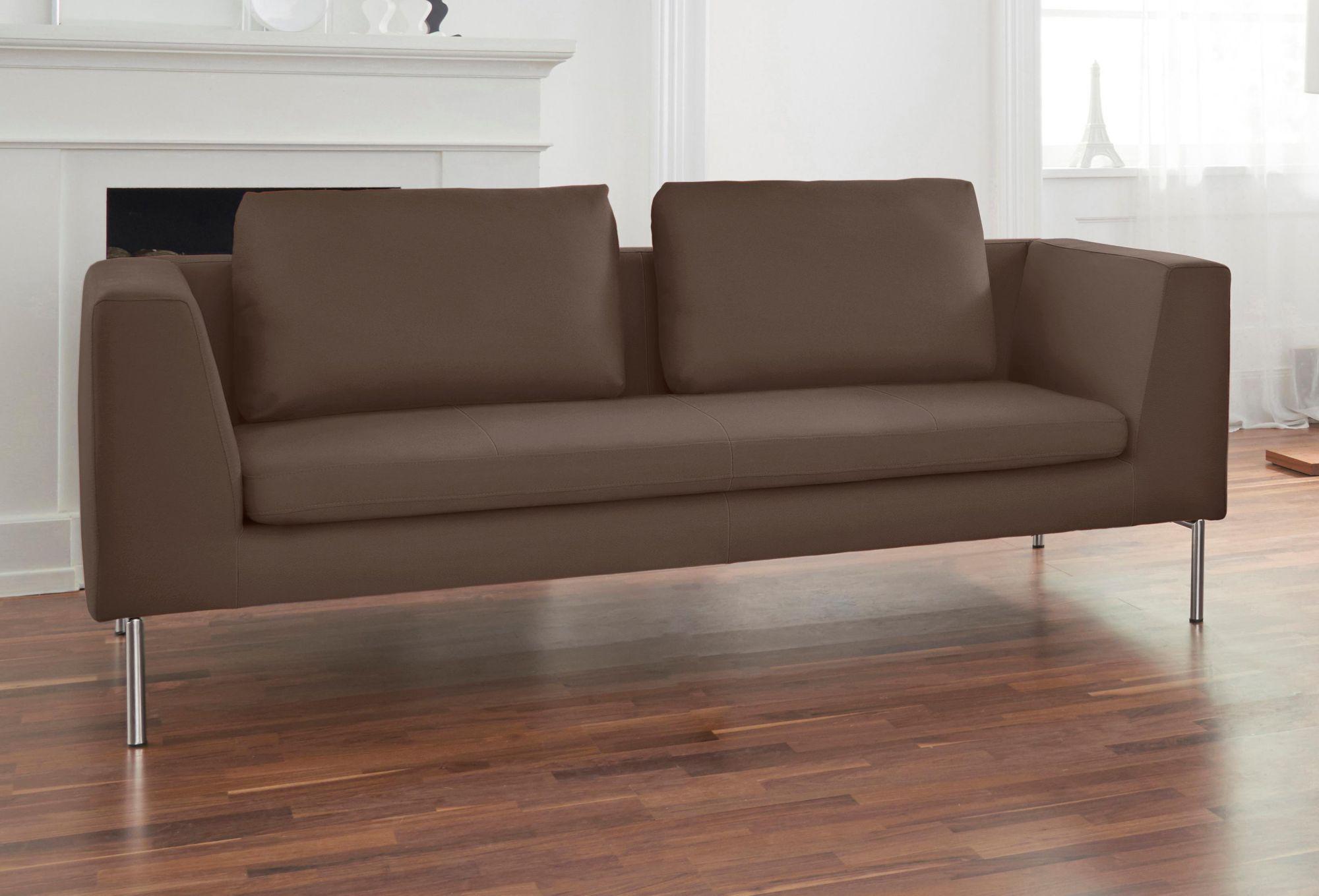 ALTE GERBEREI Alte Gerberei 2-Sitzer Sofa »Ellena« inklusive Rückenkissen