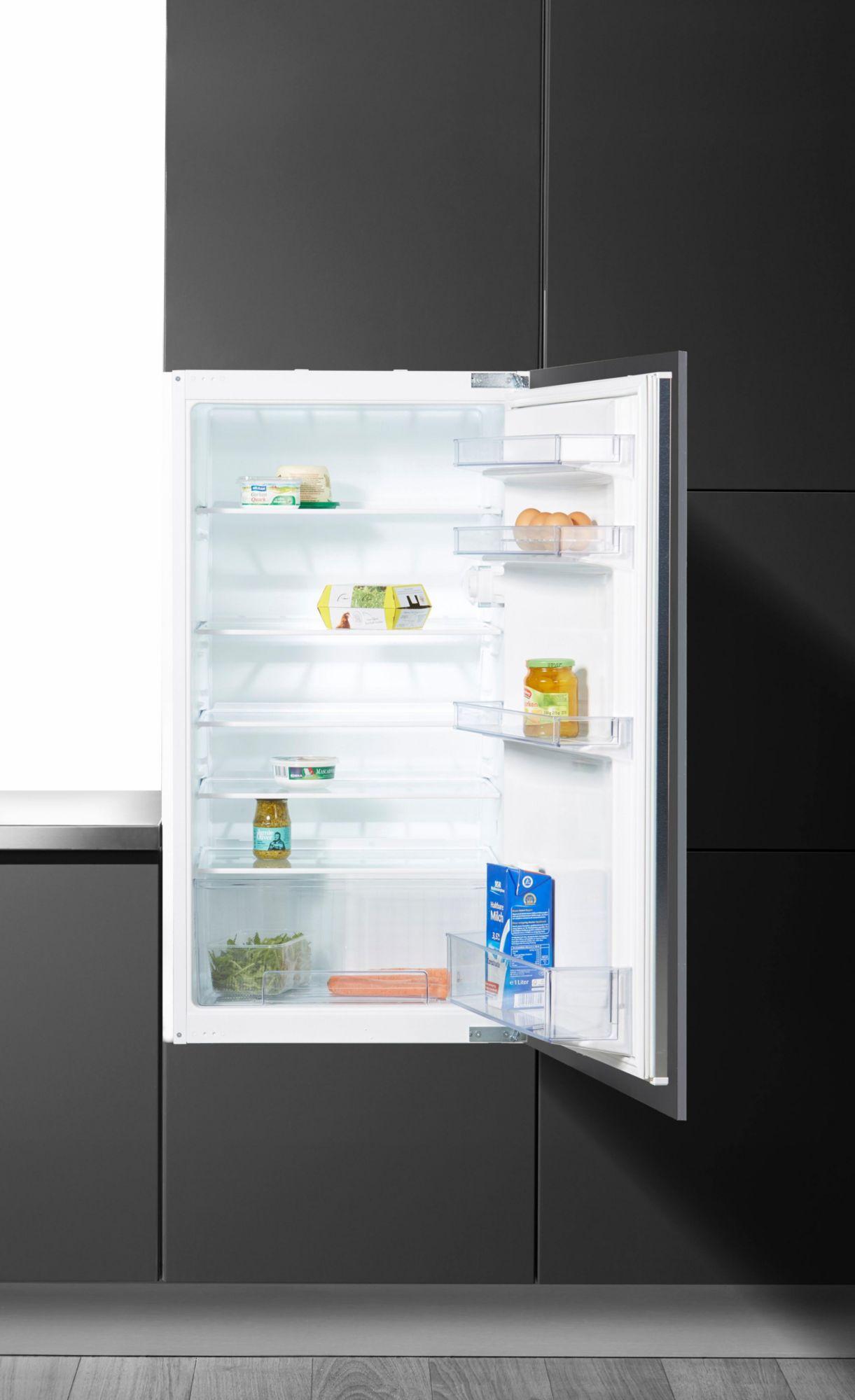 CONSTRUCTA Constructa Integrierbarer Einbaukühlschrank CK60305, Energieklasse A+, 102,1 cm hoch