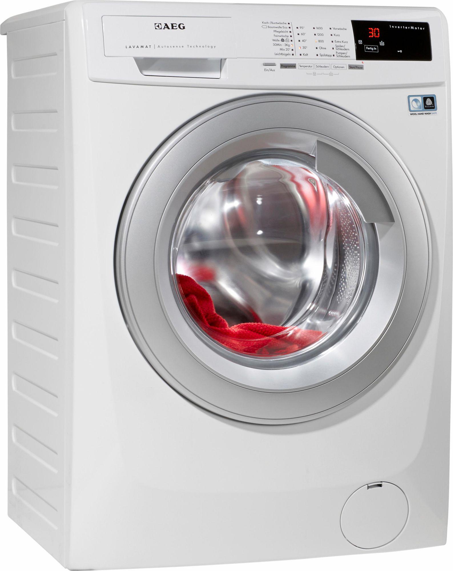 AEG ELECTROLUX AEG Waschmaschine LAVAMAT L14AS8, A+++, 8 kg, 1400 U/Min