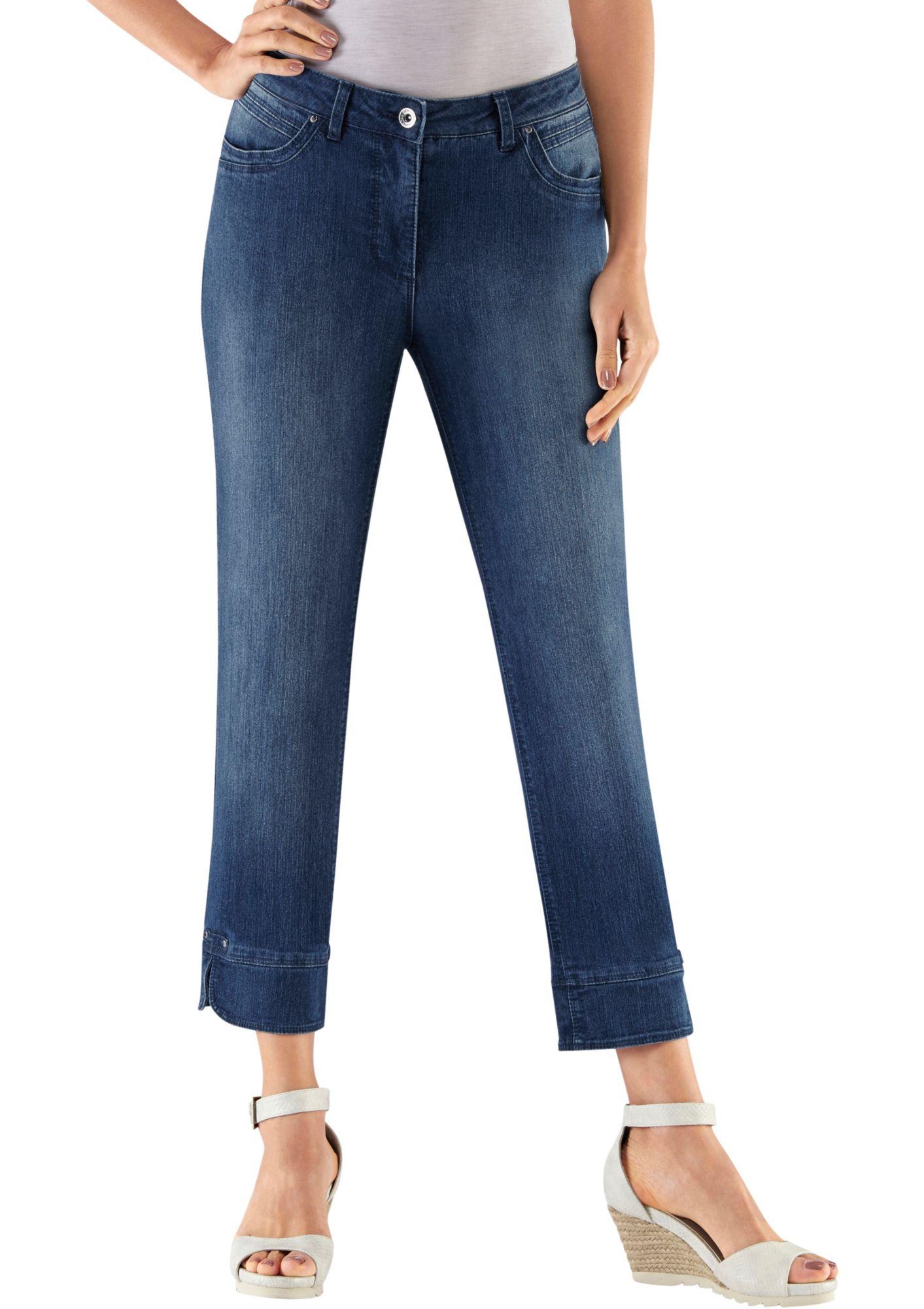 COLLECTION L Collection L. 7/8-Jeans mit Formbund
