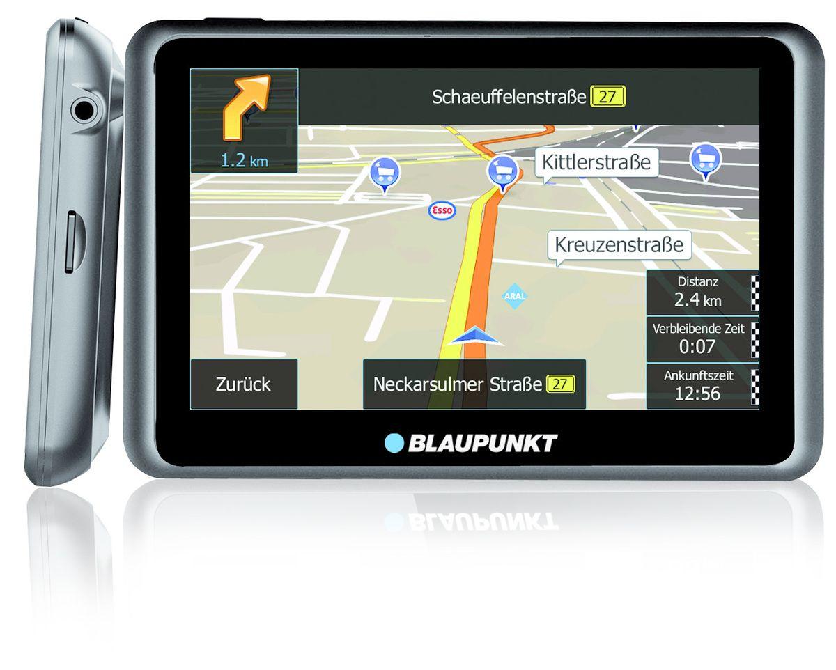 BLAUPUNKT Blaupunkt Navigationsgerät »Travelpilot 55 Active TRUCK/CAMPING EU LMU«