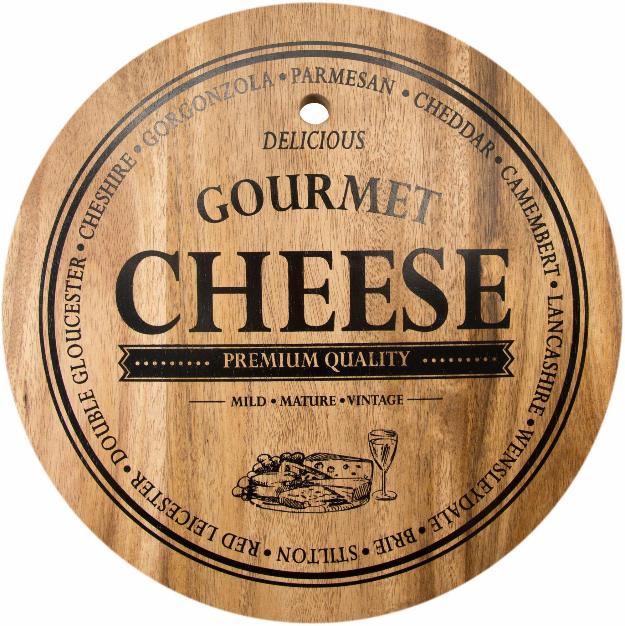 CONTENTO Contento Servierbrett »Gourmet« Akazienholz