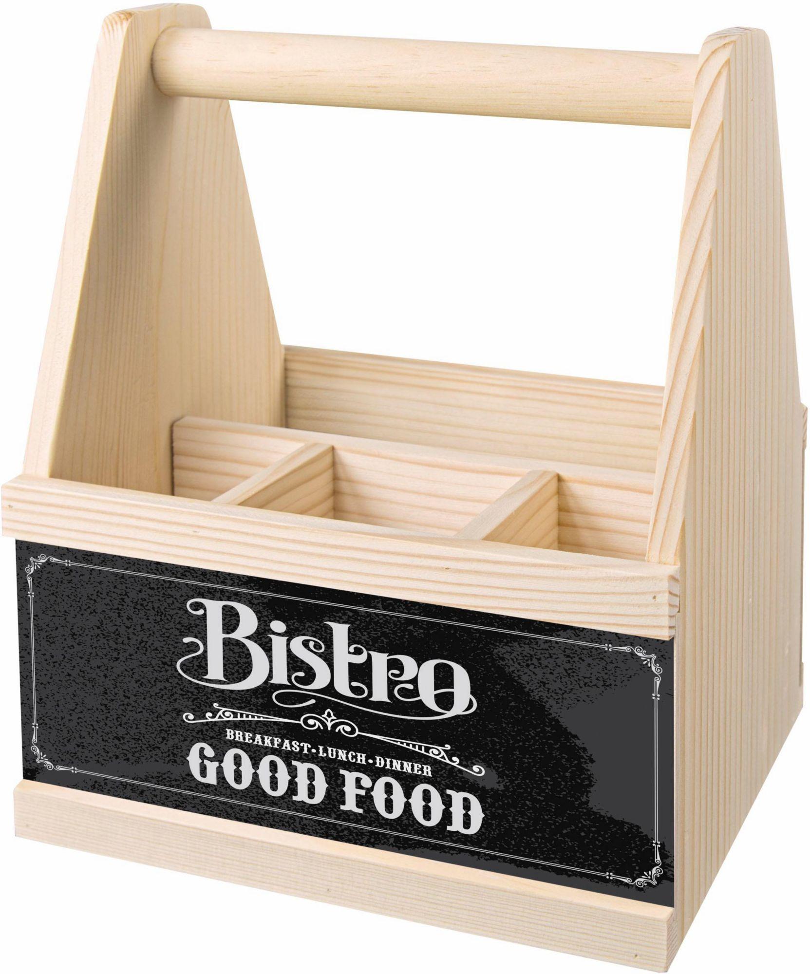 CONTENTO Contento Besteck Caddy »Bistro Good Food«