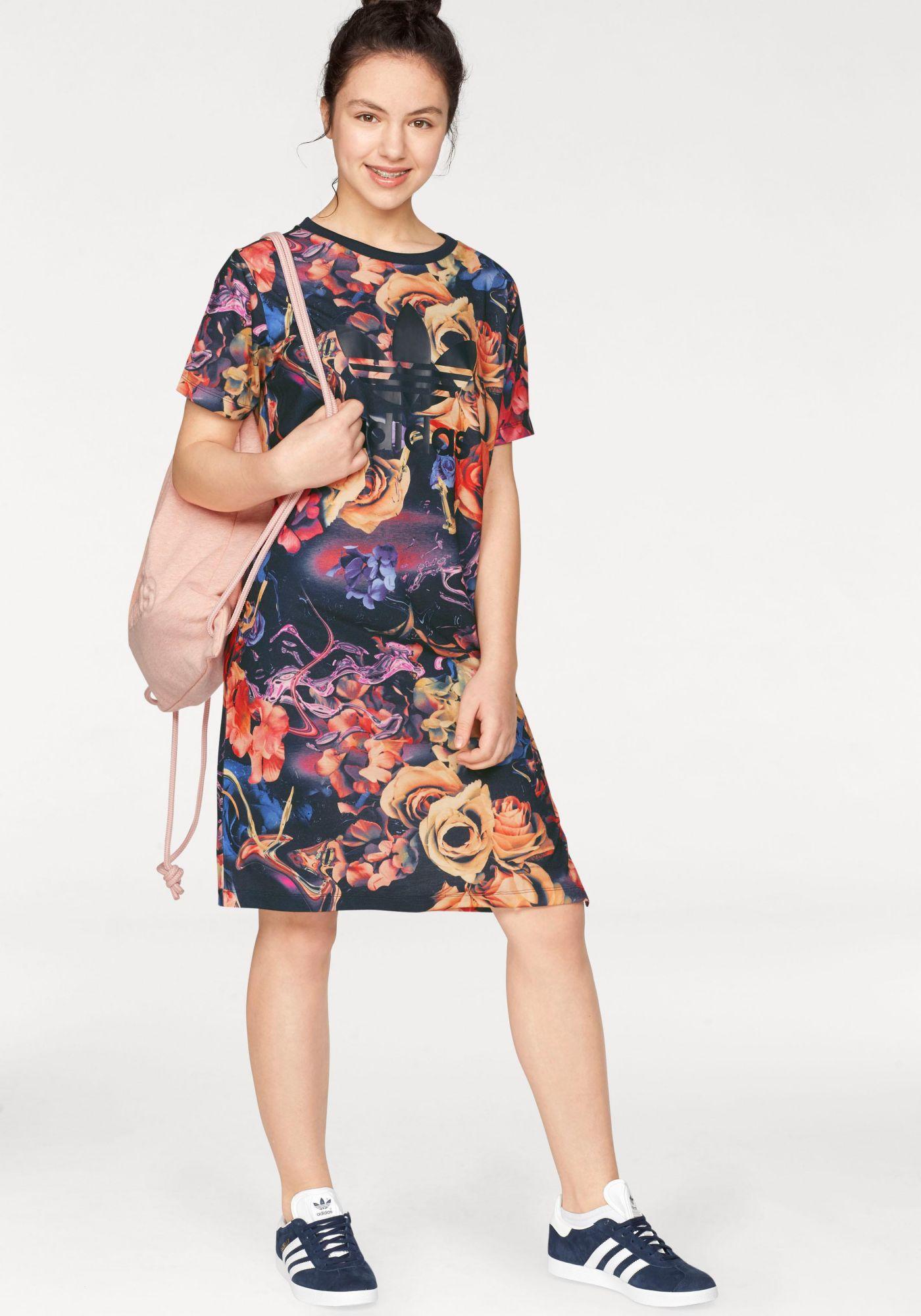 ADIDAS ORIGINALS adidas Originals Shirtkleid »J ROSE DRESS«
