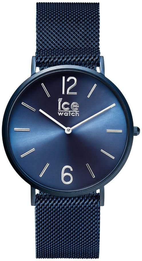 ICE WATCH ice-watch Quarzuhr »CITY milanese - Blue matte - Blue dial - Medium - 2H, 012712«