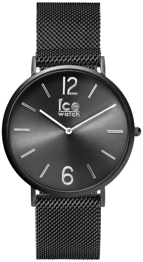 ICE WATCH ice-watch Quarzuhr »CITY milanese - Black matte - Black dial - Medium - 2H, 012698«
