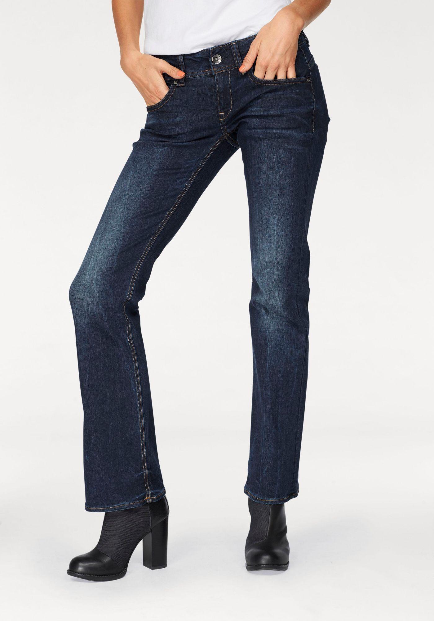 G STAR G-Star Bootcut-Jeans »Midge Saddle Mid Bootleg«