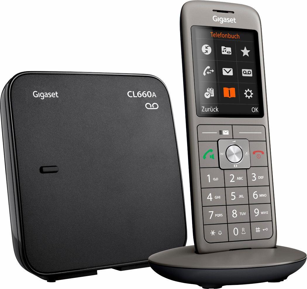 GIGASET CL660 A, analoges Telefon