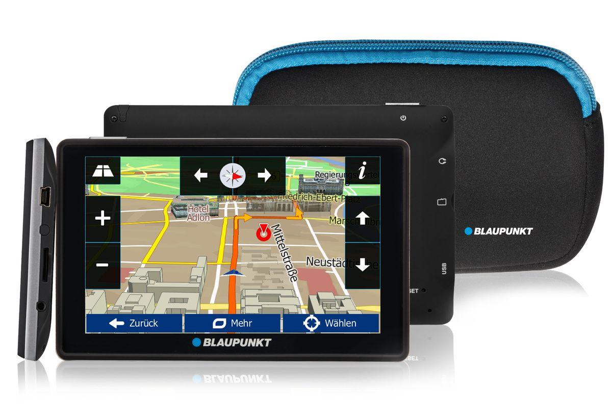 BLAUPUNKT Blaupunkt Navigationsgerät »Travelpilot 53² CE LMU inkl. Tasche«