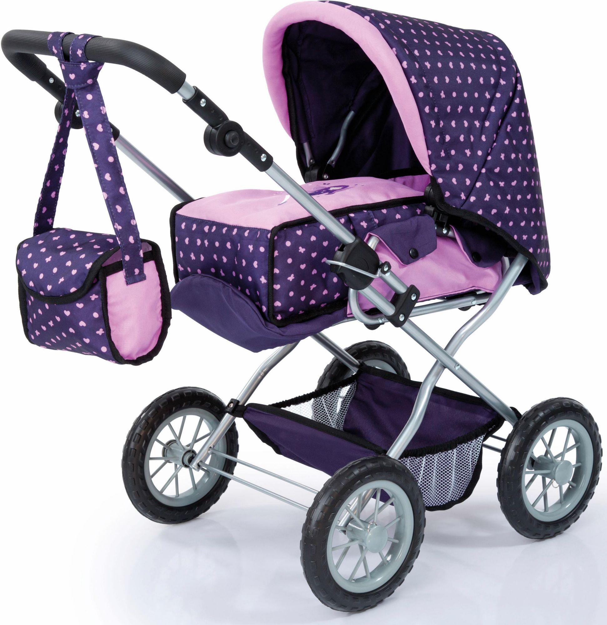 BAYER Bayer Design Kombi Puppenwagen, »Grande, lila«
