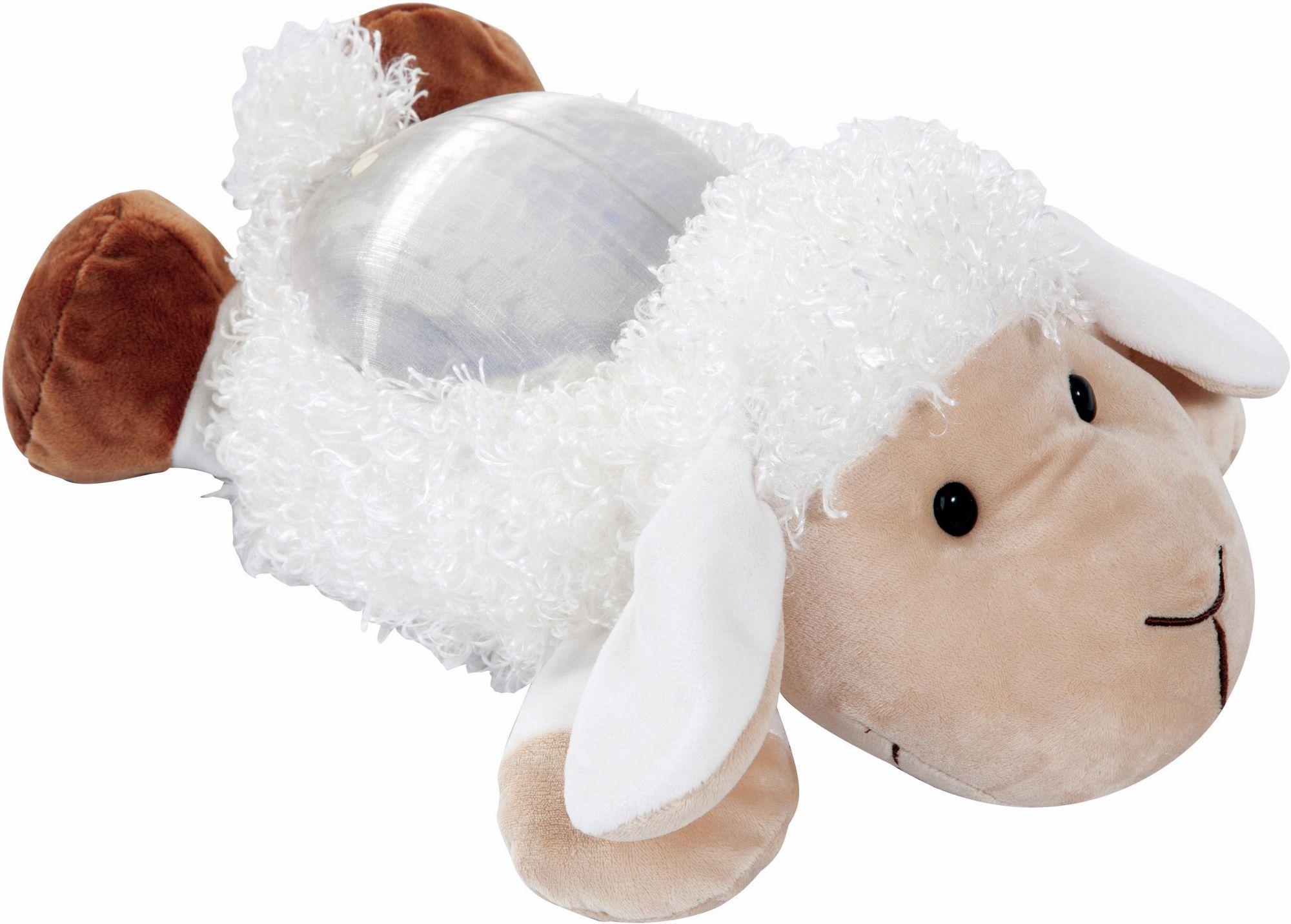 BAYER Bayer Design Kuscheltier mit Licht, »Nachtlichttier Schaf«