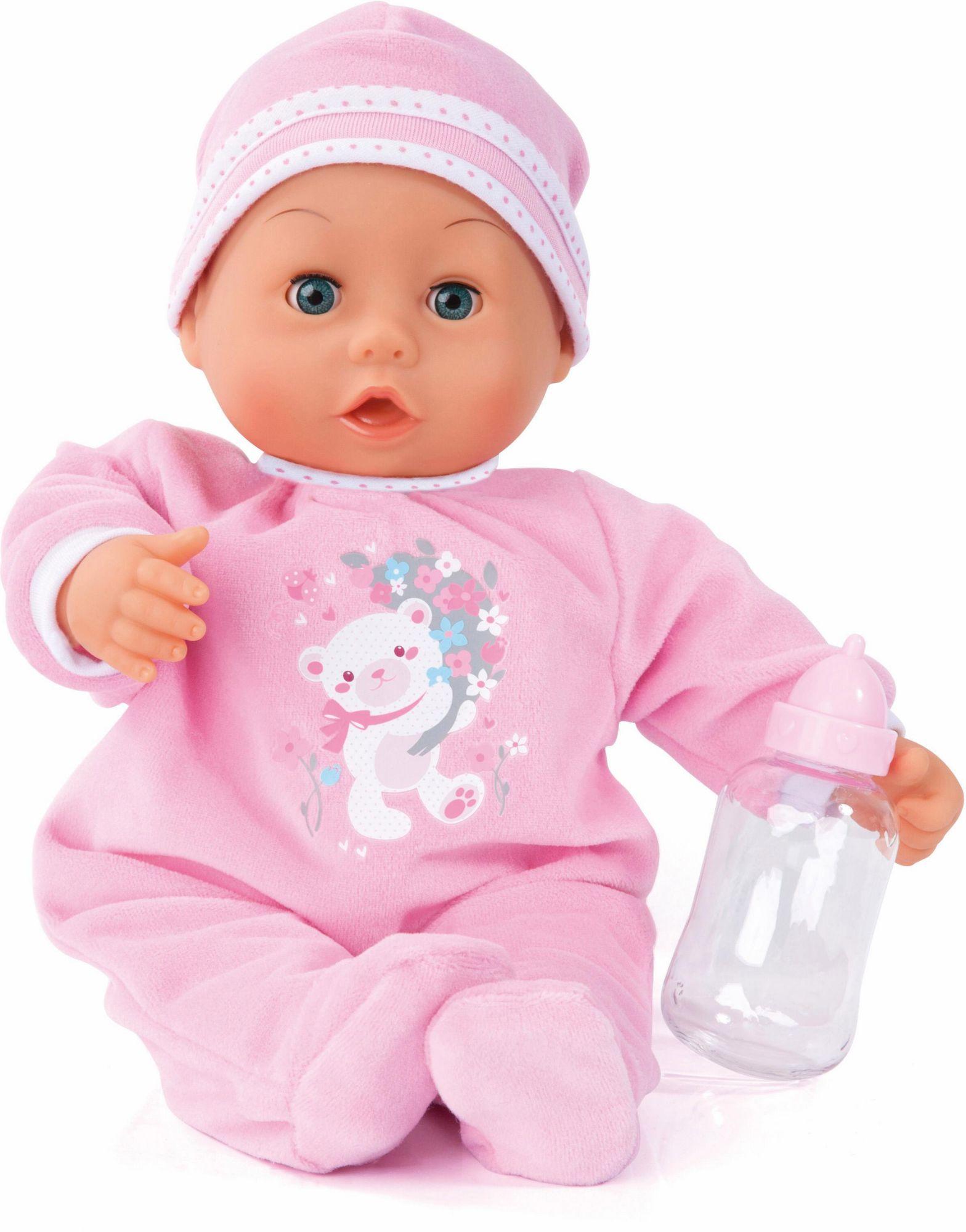BAYER Bayer Design Babypuppe mit Funktion , »Happy Piccolina, 38 cm«