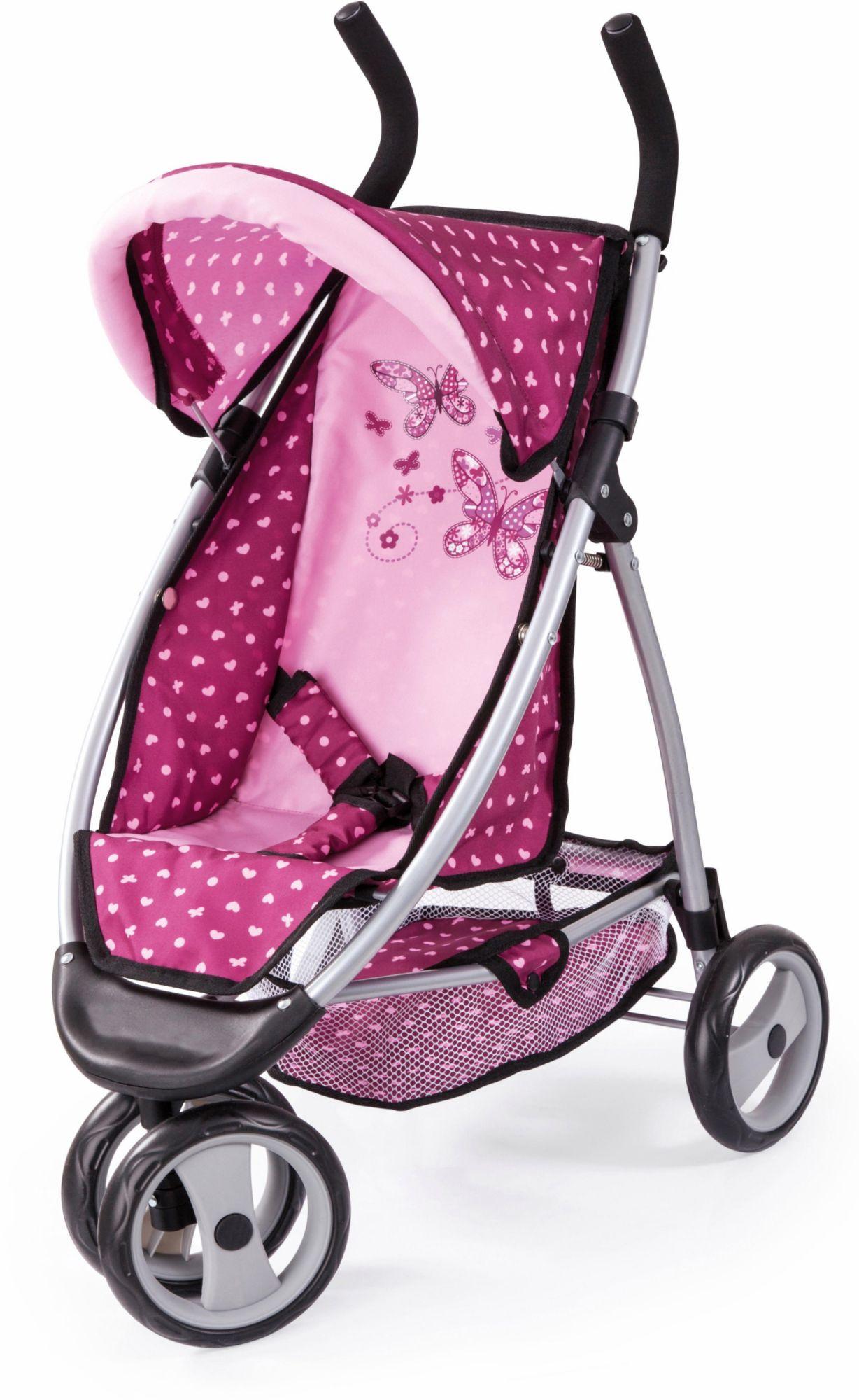 BAYER Bayer Design Puppenwagen, »Jogger Sport, pink«
