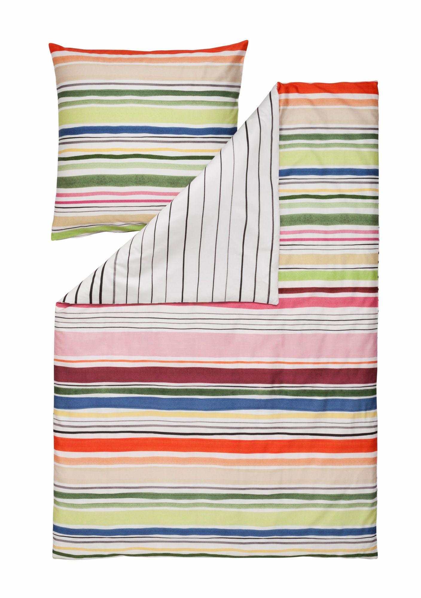 ESTELLA Bettwäsche, Estella, »Fun Stripes«, mit bunten Streifen