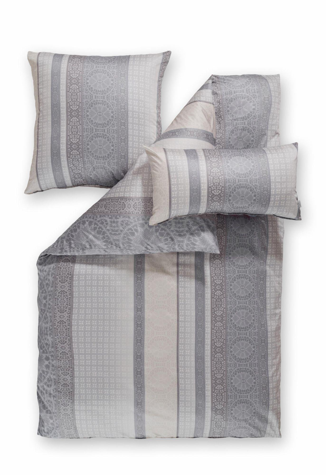 ESTELLA Bettwäsche, Estella, »Maira«, mit Streifen und Ornamenten