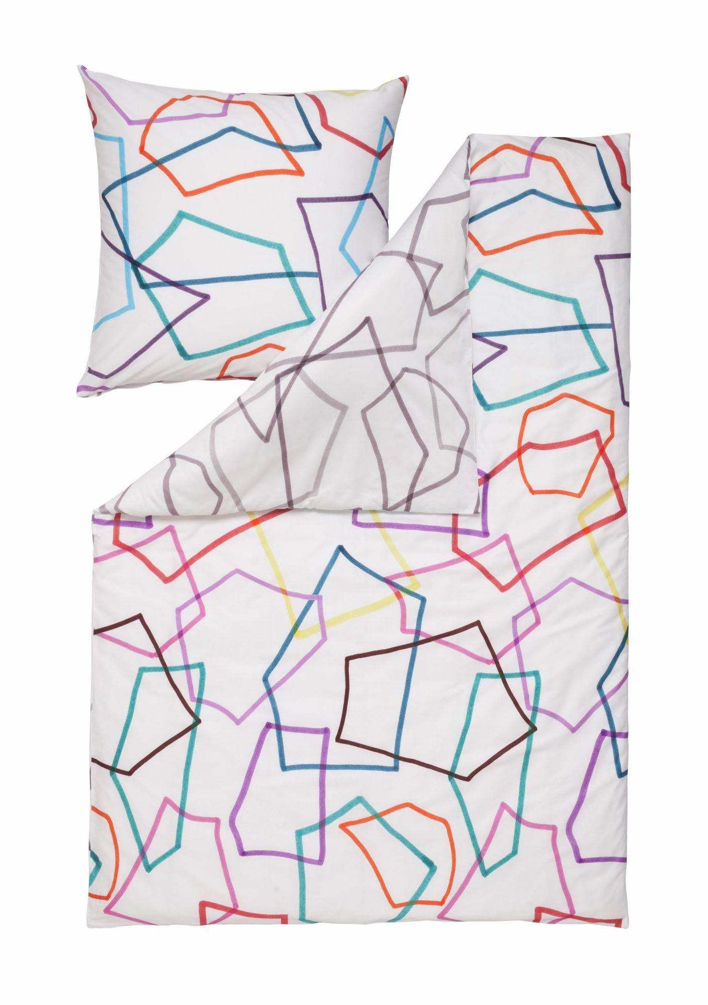 ESTELLA Bettwäsche, Estella, »Scribble«, mit geometrischen Formen