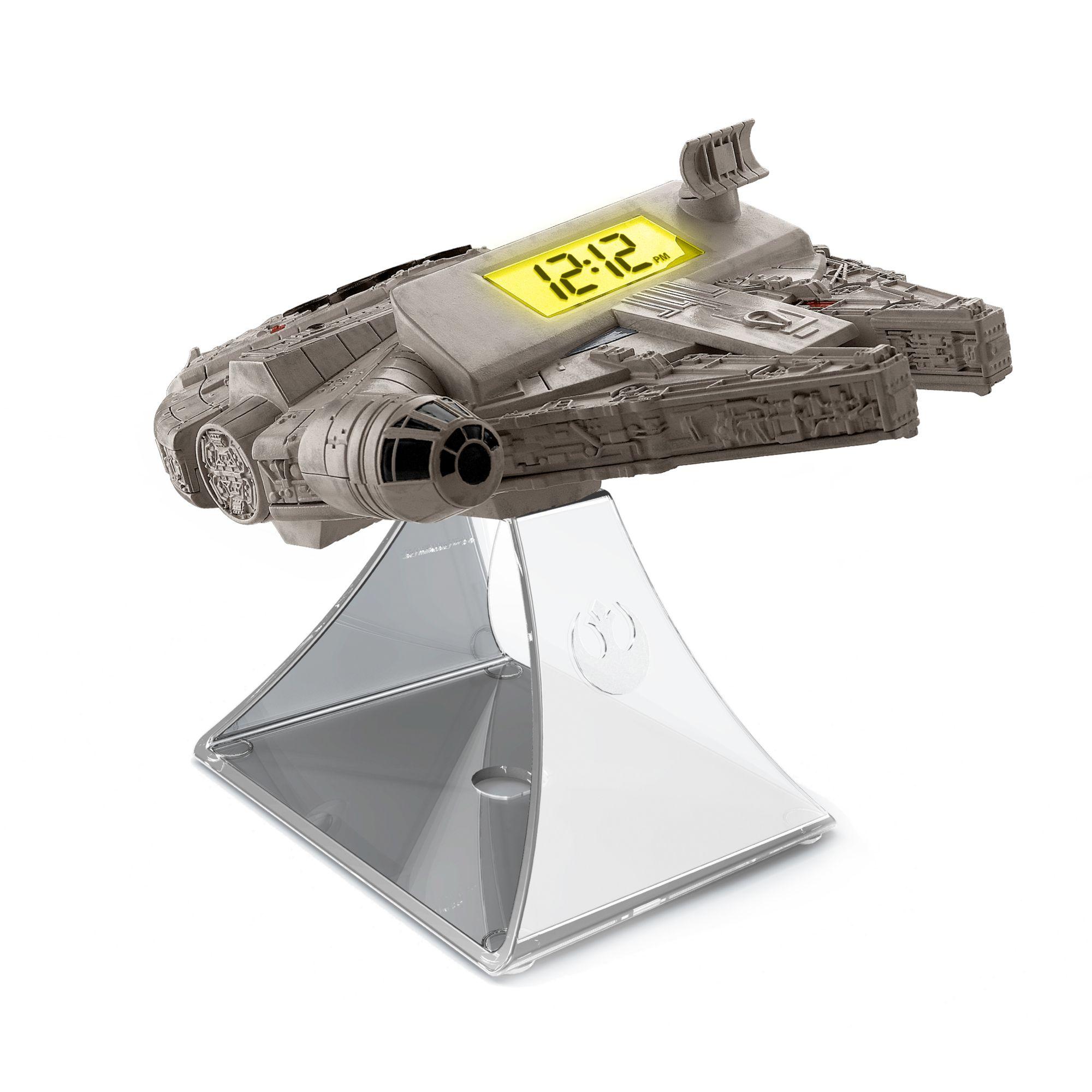 IHOME iHome Wecker und FM Radio mit vorinstalliertem Star Wars Soundtrack »Star Wars Millennium Falcon«
