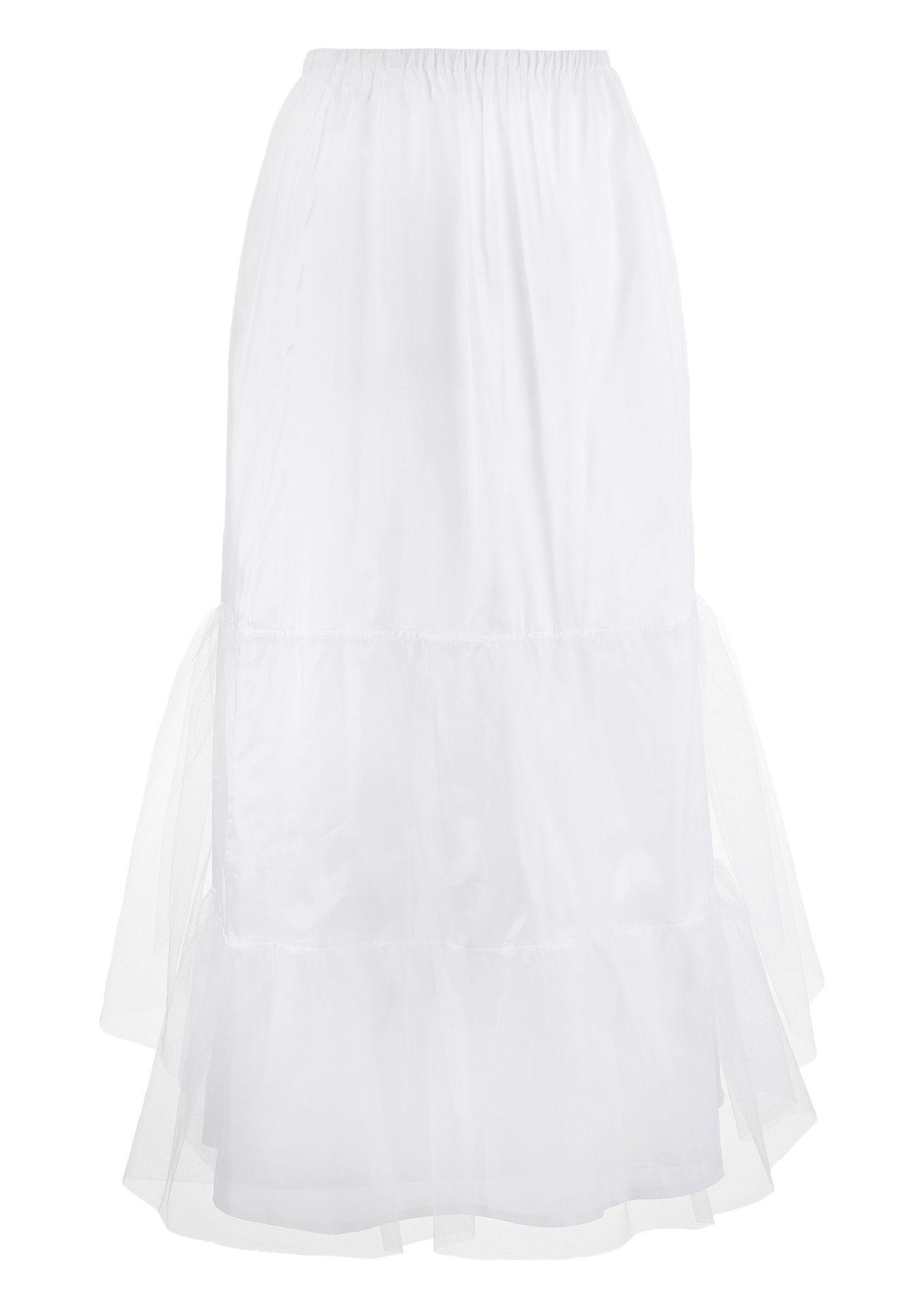 LOVE NATURE Love Nature Petticoat mit praktischen Gummizug