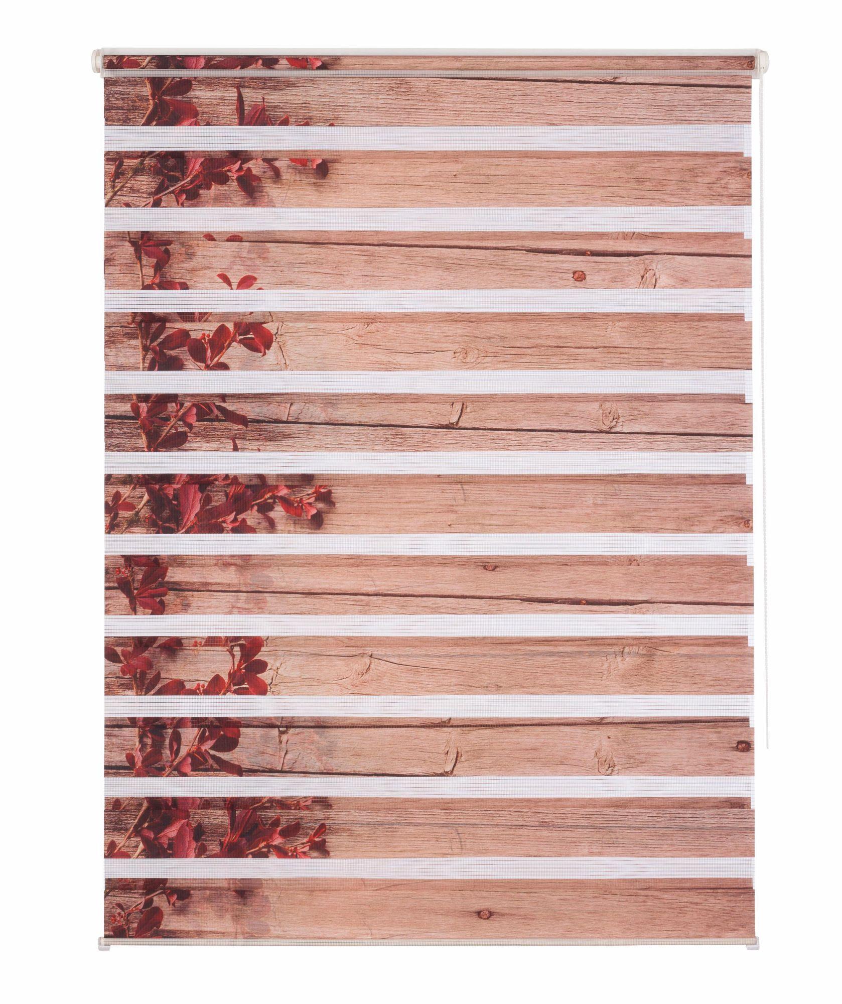 HOME AFFAIRE COLLECTION Doppelrollo, Home affaire Collection, »Shao«, Lichtschutz, Fixmaß, ohne Bohren