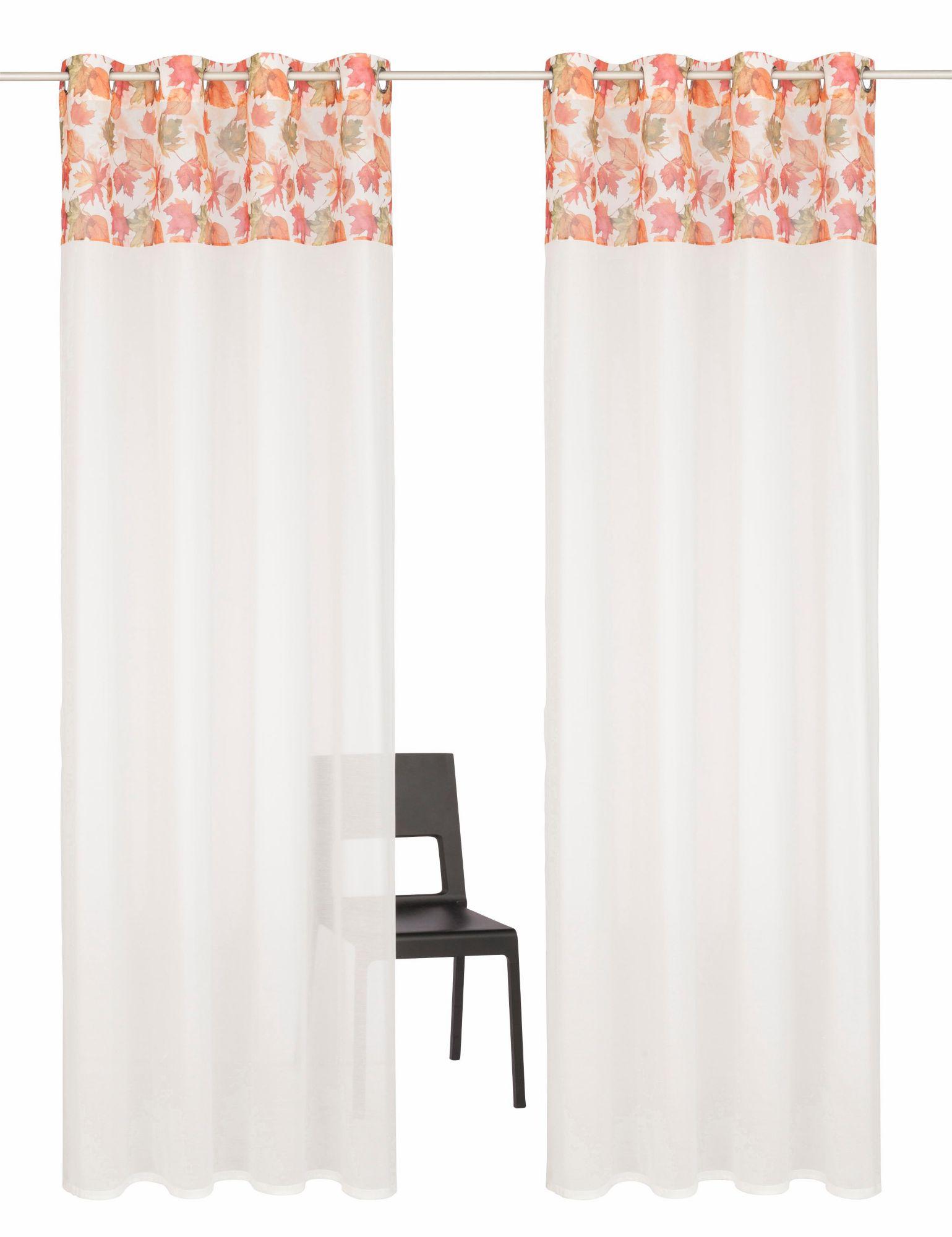 HOME AFFAIRE COLLECTION Gardine, Home affaire Collection, »Forest«, mit Ösen (2 Stück)
