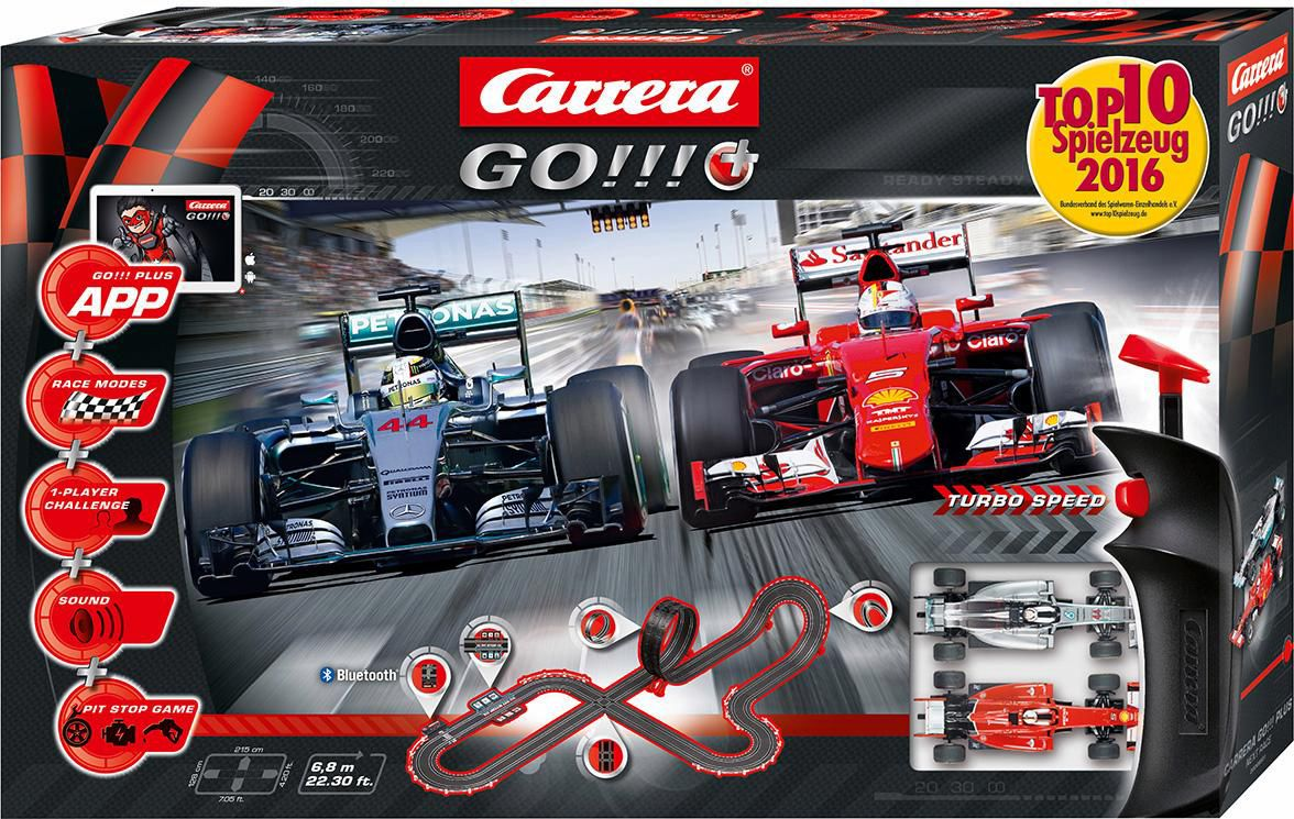 CARRERA Carrera Autorennbahn, »Carrera® GO!!! Plus, NEXT Race««