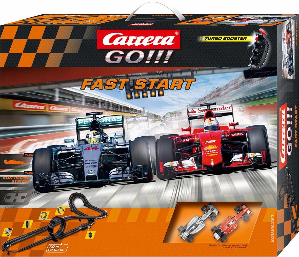 CARRERA Carrera Autorennbahn, »Carrera® GO!!!, Fast Start«