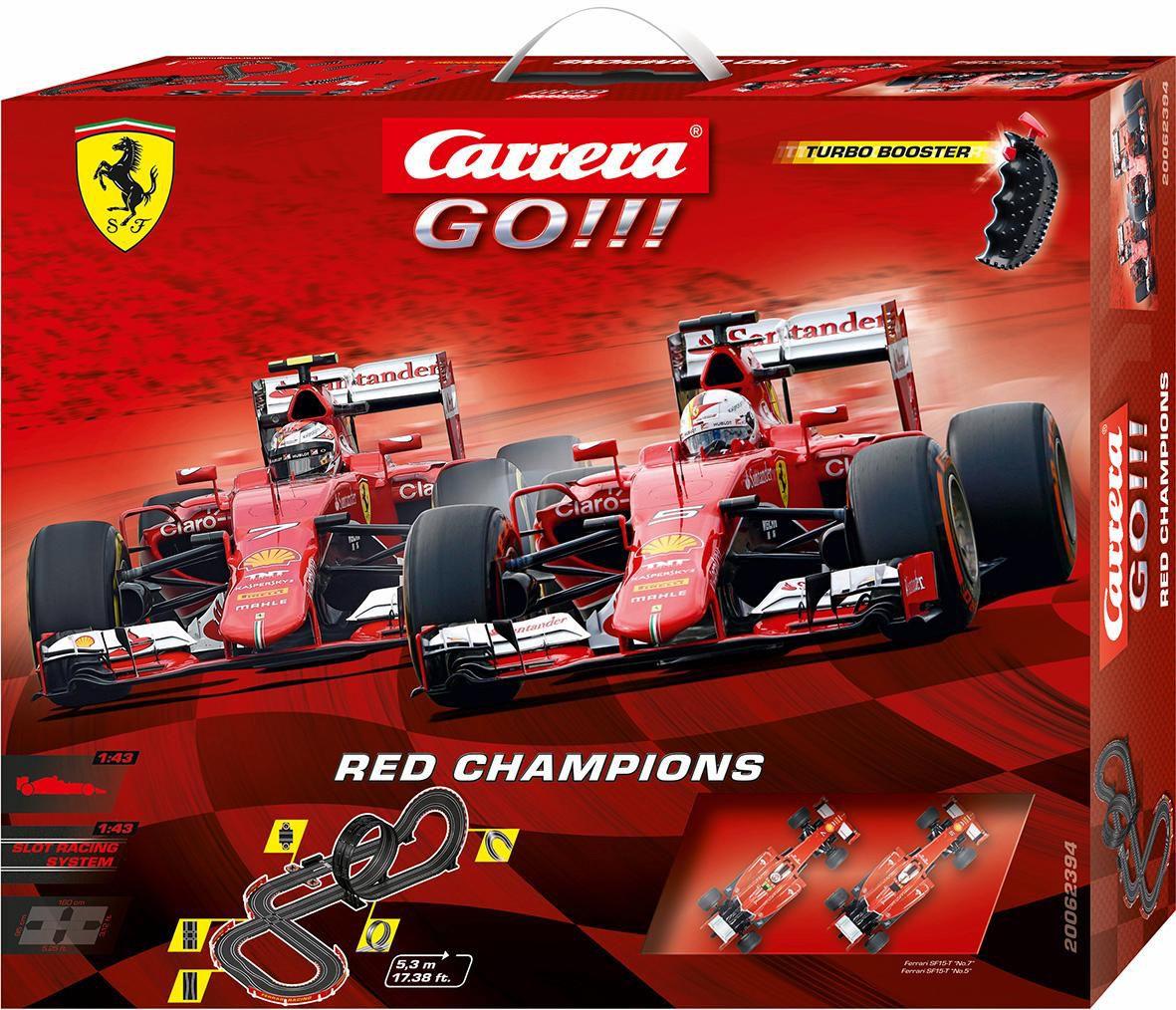 CARRERA Carrera Autorennbahn, »Carrera® GO!!!, Red Champions«