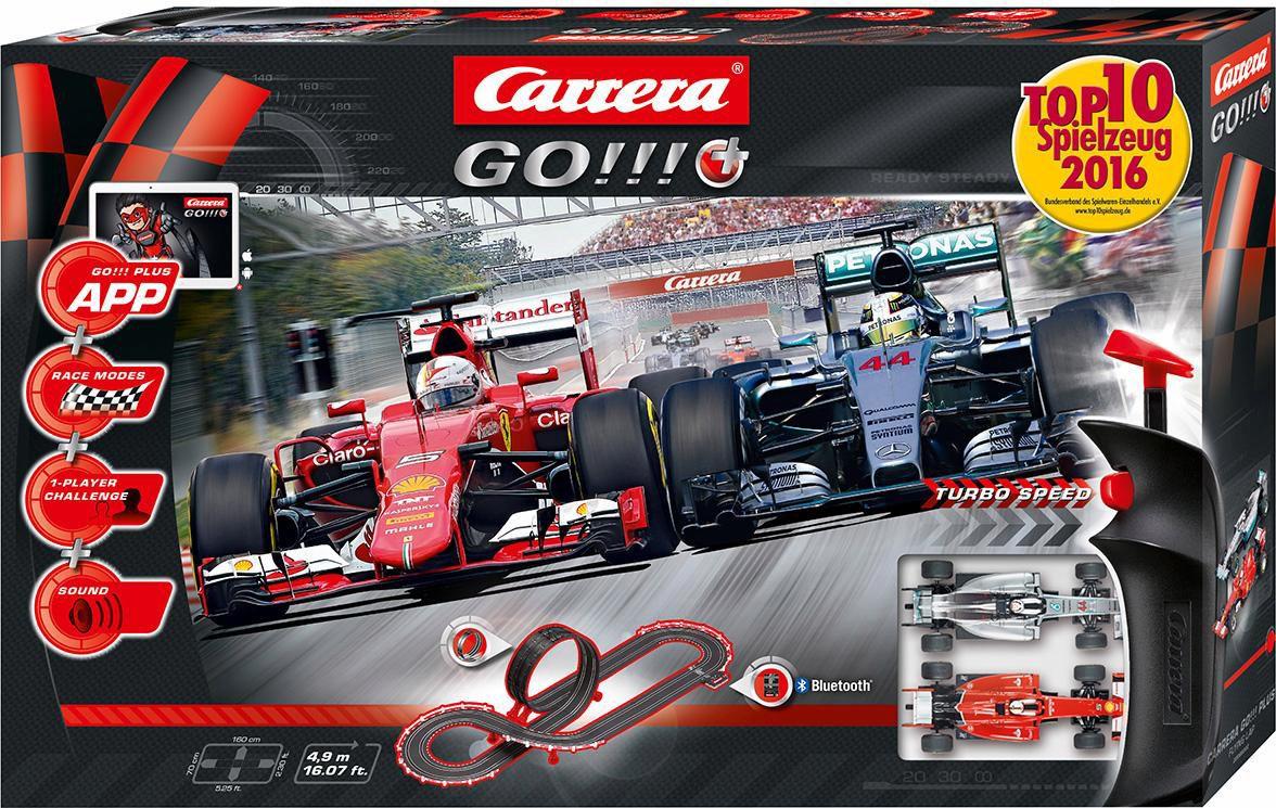 CARRERA Carrera Autorennbahn, »Carrera® GO!!! Plus, Flying Lap«