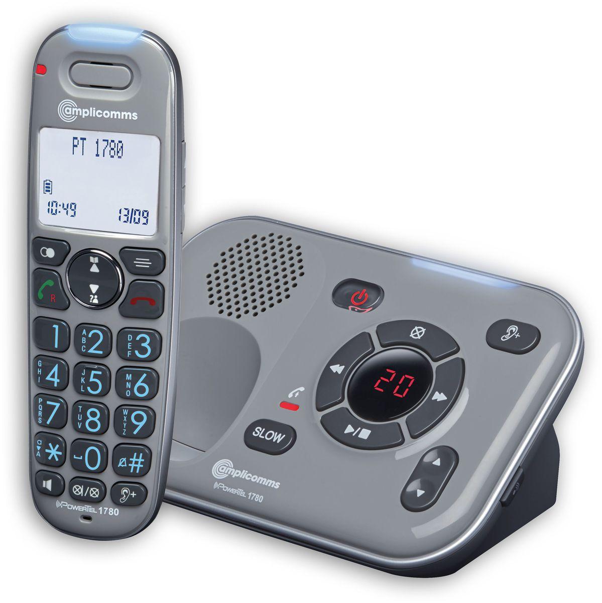 AMPLICOMMS amplicomms Großtastentelefon »PowerTel 1780«