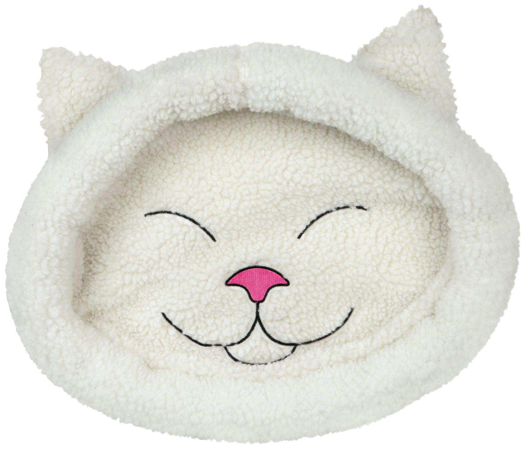 HEIM  Hundebett und Katzenbett »Mizzi«, Lammfell-Optik, BxL: 37x48 cm