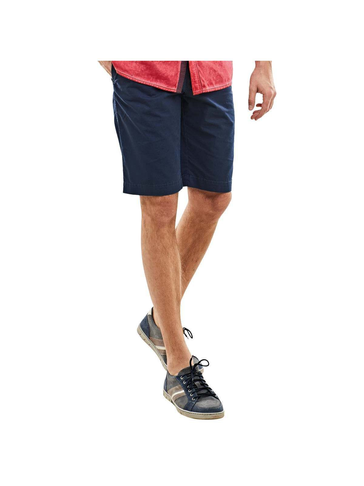ENGBERS engbers Chino Shorts mit tollen Steppelementen