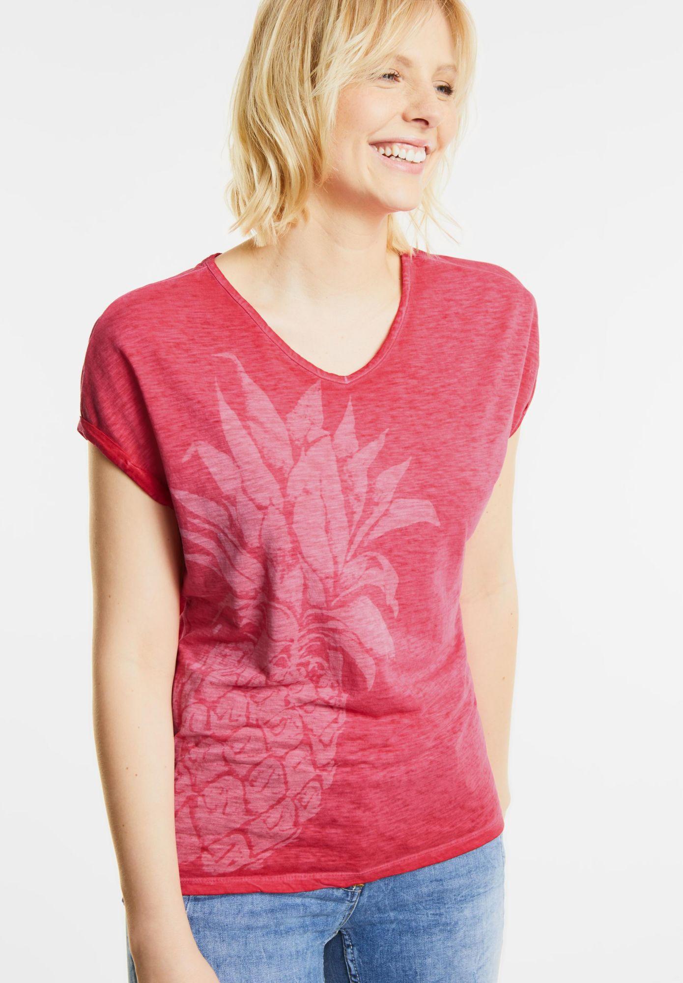 CECIL  Ananas Print Shirt