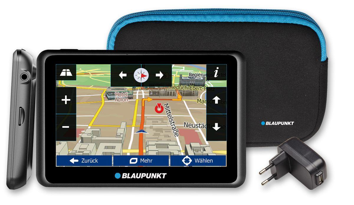 BLAUPUNKT Blaupunkt Navigationsgerät »TravelPilot 55 Active EU LMU inkl. Zubehör«
