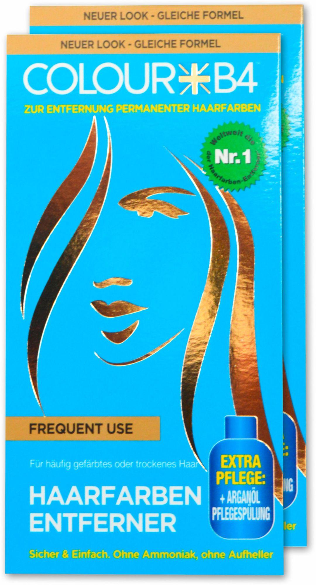 COLOUR B4 Colour B4, »Colour B4 Frequent Use«, Haarfarben-Entferner für häufig gefärbtes oder trockenes Haar