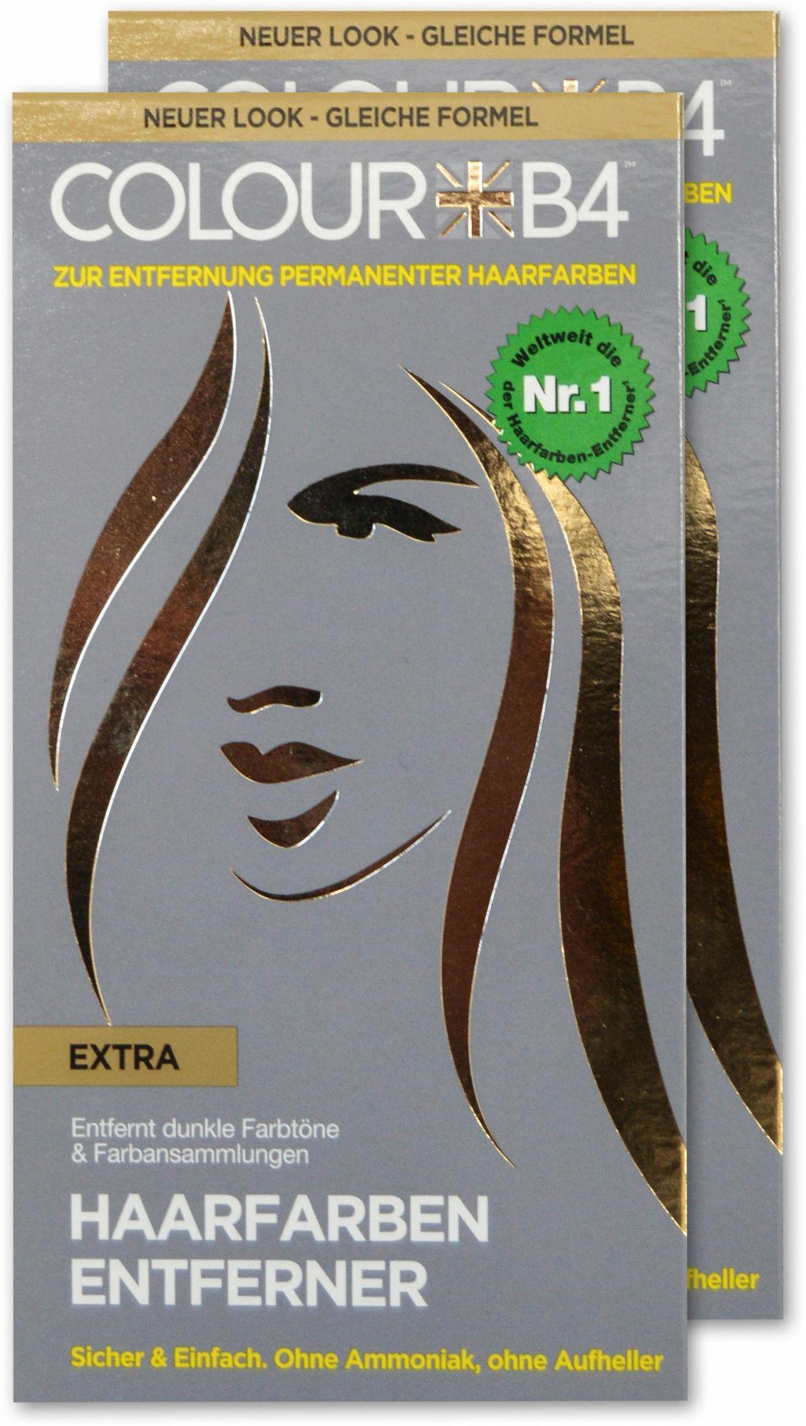 COLOUR B4 Colour B4, »Colour B4 Extra«, Haarfarben-Entferner zum Entfernen dunkler Farbtöne