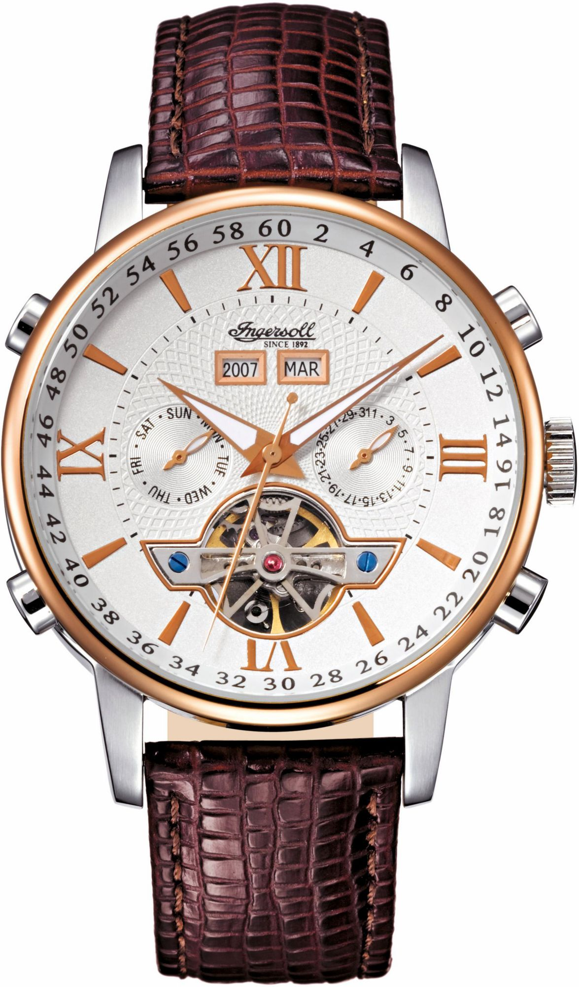 INGERSOLL Ingersoll Automatikuhr »Grand Canyon 2, IN4503RWH«