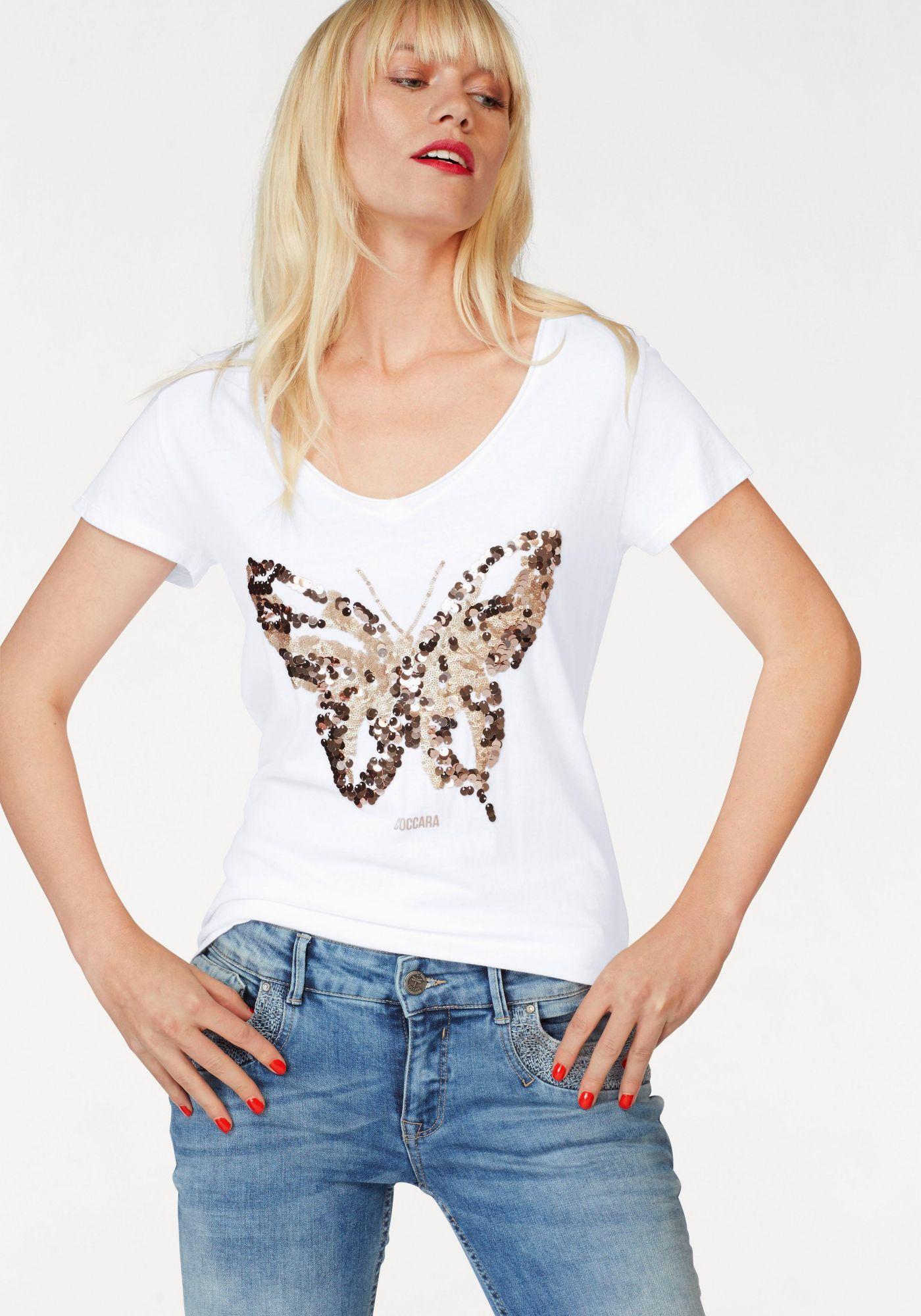 COCCARA Coccara T-Shirt »NATALIE«