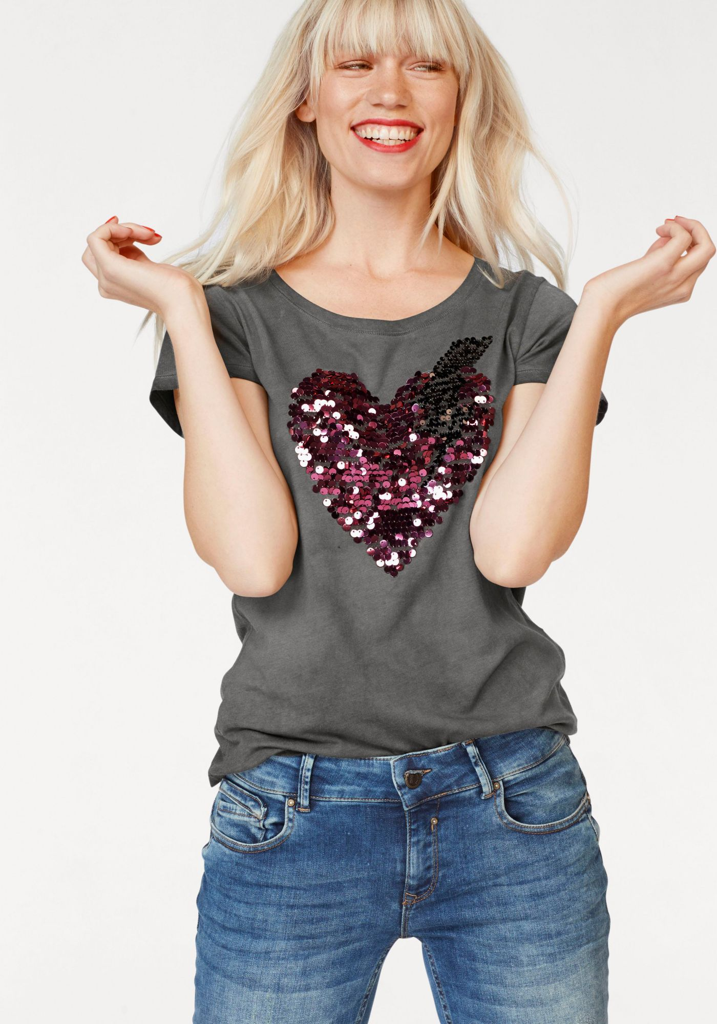 COCCARA Coccara T-Shirt »JORDAN«