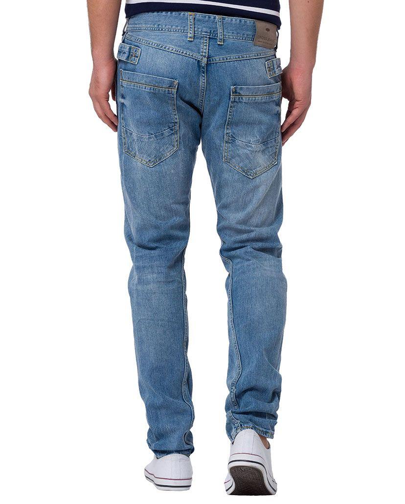 CROSS JEANS ® CROSS Jeans ® Slim Fit Jeans mit Knopfleiste »Adam«