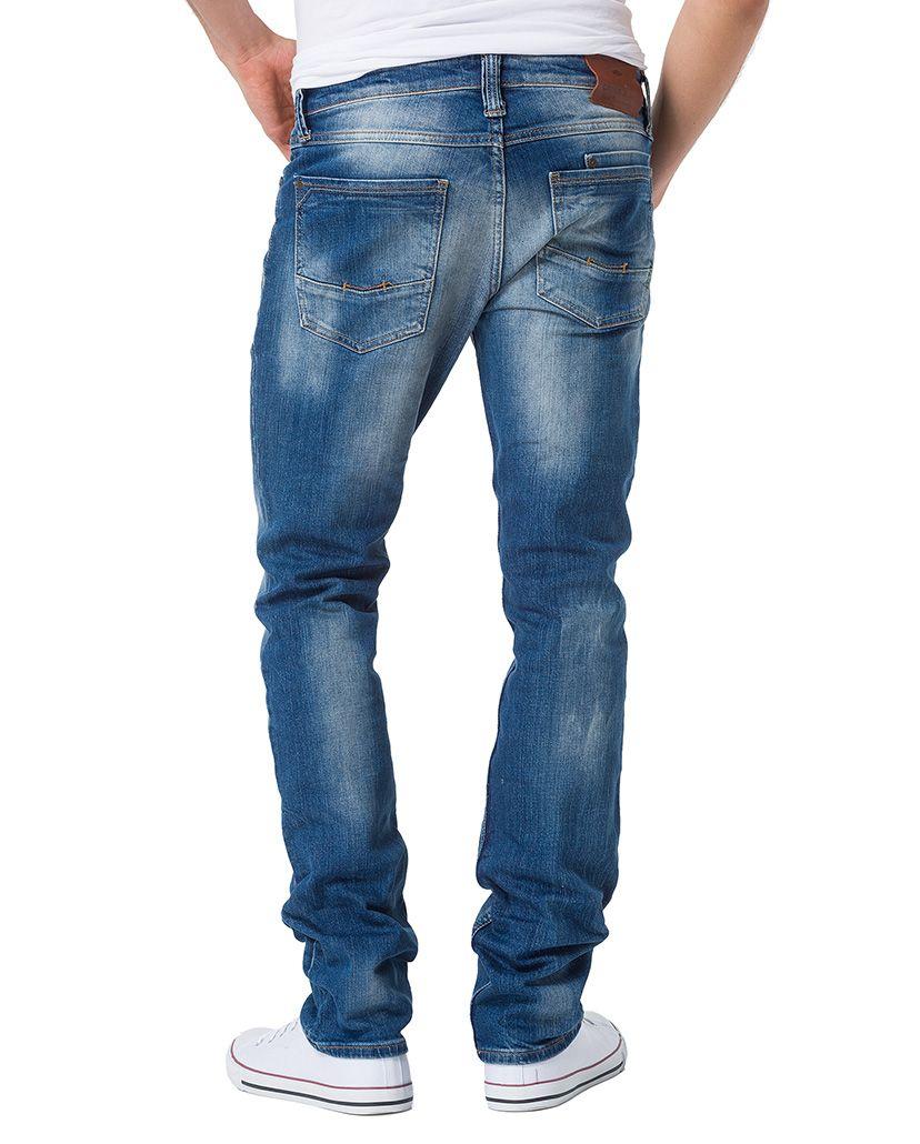 CROSS JEANS ® CROSS Jeans ® Regular Fit Jeans mit Knopfleiste »Dylan«